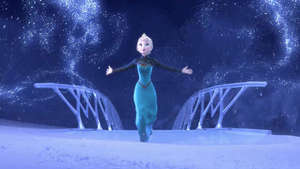 Disney's Frozen 'Let It Go' song performed by Idina Menzel