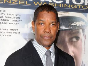 Denzel Washington arrives for the UK premiere of Flight