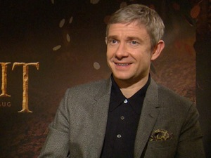 Martin Freeman speaks to Digital Spy at The Hobbit: The Desolation of Smaug junket