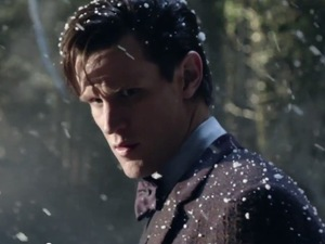 Matt Smith in 'The Time of the Doctor' - screencap.