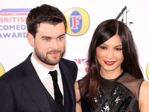 Jack Whitehall and Gemma Chan at the British Comedy Awards at Fountain Studios in Wembley