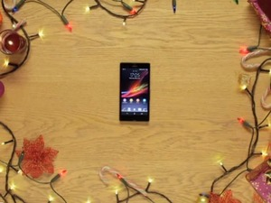 Sony Christmas tree with NFC smartphone controlled lights