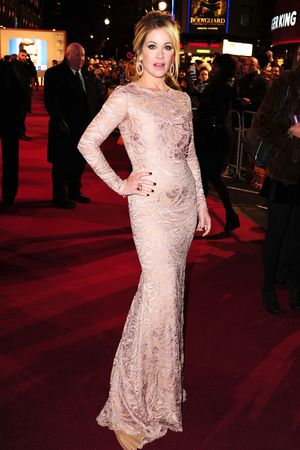 Christina Applegate attending the UK premiere of Anchorman 2 at the Vue West End cinema, London