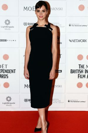 Felicity Jones, The Moet British Independent Film Awards 2013, London, Britain