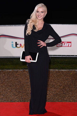 The Sun Military Awards 2013, London, Britain - 11 Dec 2013 Helen Flanagan