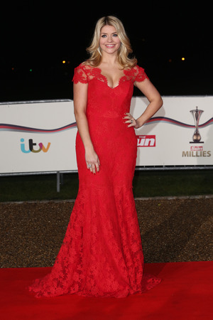 Holly Willoughby, The Sun Military Awards 2013, London, Britain - 11 Dec 2013
