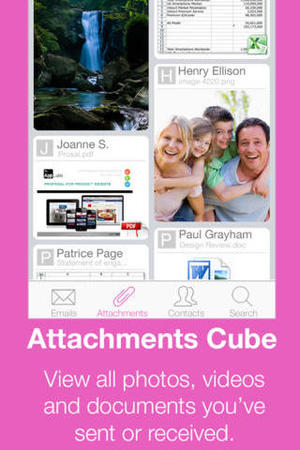Inbox Cube for iOS