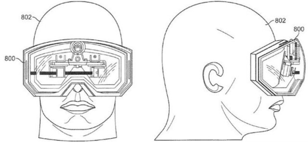 Apple's smart goggles patent