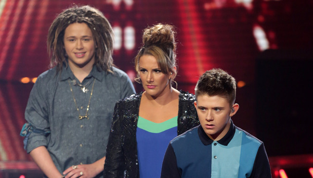 The X Factor: Luke Friend, Sam Bailey and Nicholas McDonald