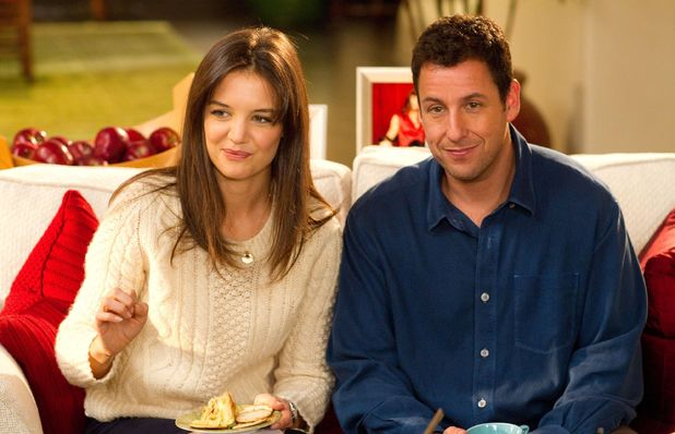 JACK AND JILL, from left: Katie Holmes, Adam Sandler