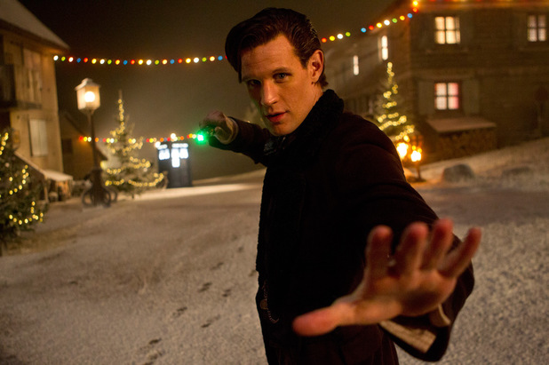 Matt Smith as The Doctor in the Doctor Who Christmas special: 'The Time of the Doctor'