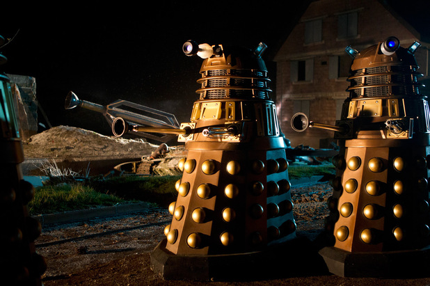 Daleks in the Doctor Who Christmas special: 'The Time of the Doctor'