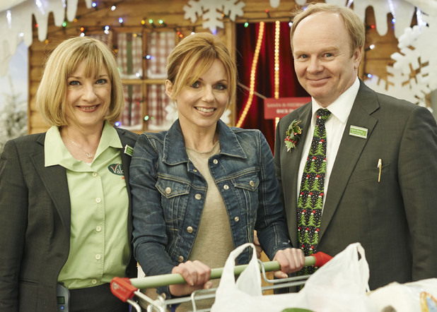 Geri Halliwell on Trollied