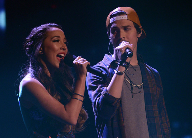 The X Factor USA Top 4: Alex and Sierra