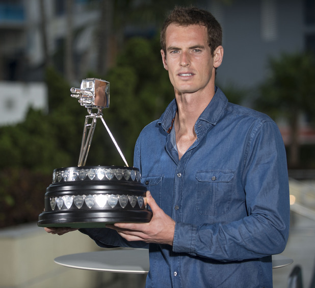 Andy Murray - winner of BBC Sports Personality Of The Year 2013
