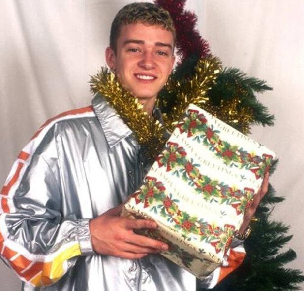 Justin Timberlake, Christmas card