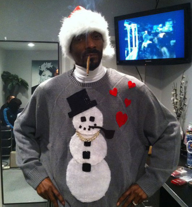 Snoop Dogg, Christmas card
