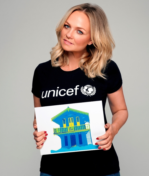 Emma Bunton for UNICEF