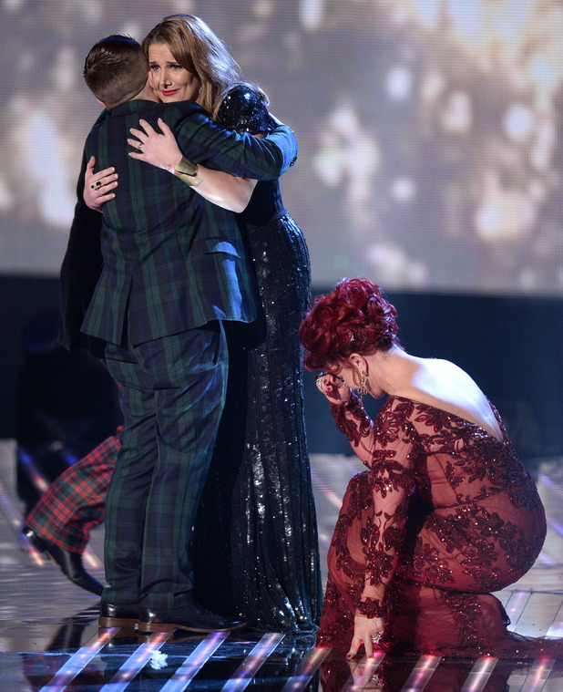 Sam Bailey is crowned winner
