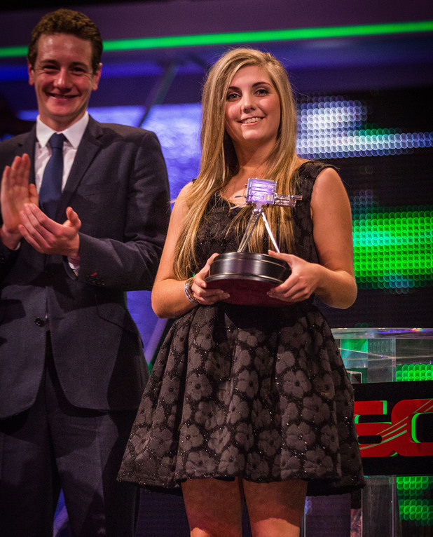 BBC Young Sports Personality Of The Year winner Amber Hill