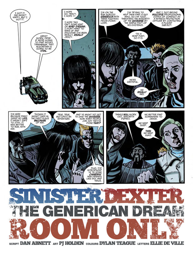 Sinister Dexter: 'The Generican Dream: Room Only'