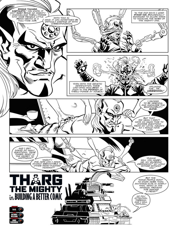 Tharg the Mighty: 'Building A Better Comic'
