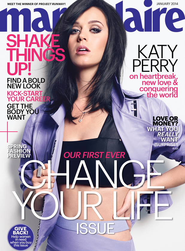 Katy Perry in 'Marie Claire'