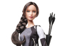 Hunger Games characters as Barbie dolls