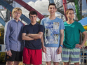 James Buckley, Simon Buckley, Blake Harrison, Joe Thomas in The Inbetweeners Movie 2