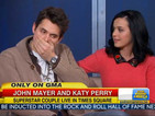 John Mayer accidentally swears while talking about Katy Perry's music - video