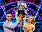 Abbey Clancy tells DS where she'll keep Strictly Come Dancing trophy.