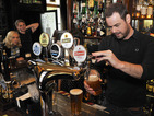 EastEnders: Carter family take part in pub work experience - pictures