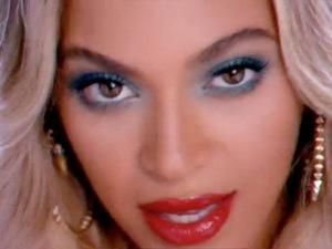 Beyoncé in 'Blow' video