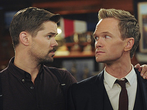 Andrew Rannells as Darren and Neil Patrick Harris as Barney in How I Met Your Mother: 'Bass Player Wanted'