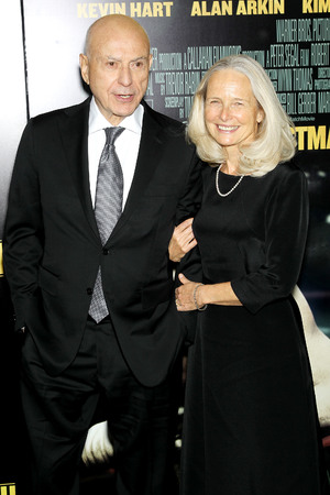 Alan Arkin and Suzanne Newlander Arkin 'Grudge Match' film premiere, New York, America - 16 Dec 2013