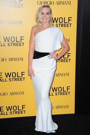 'The Wolf of Wall Street' film premiere, New York, America - 17 Dec 2013 Margot Robbie