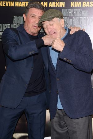 Sylvester Stallone and Robert De Niro 'Grudge Match' film premiere, New York, America - 16 Dec 2013