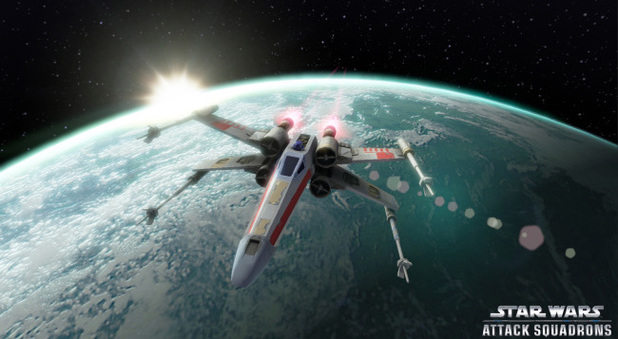 Star Wars: Attack Squadrons will launch in 2014