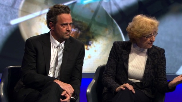 Matthew Perry on Newsnight