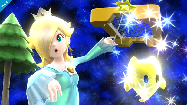 Super Smash Bros Rosalina and Luma