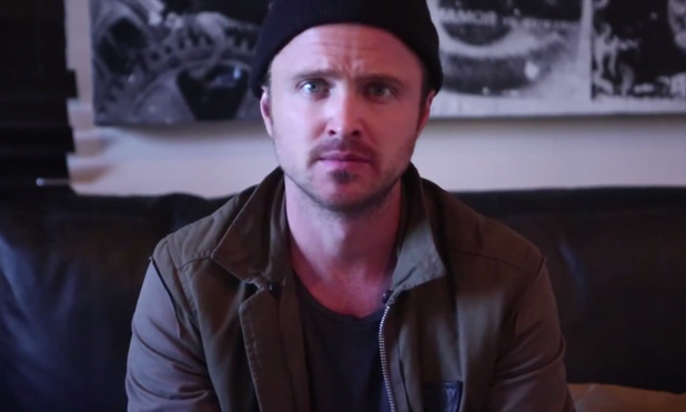 Aaron Paul in fan proposal video
