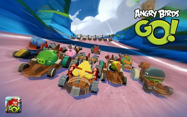 Angry Birds Go screenshot