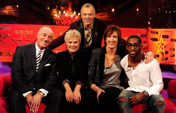 Len Goodman, Julie Walters, Miranda Hart and Tinie Tempah on The Graham Norton Show