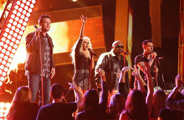 The Voice: Judges perform for the finale