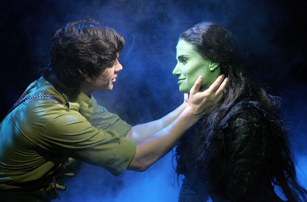 'Wicked' musical at the Apollo Victoria Theatre, London, Britain - 22 Sep 2006 Wicked - Adam Garcia ( Fiyero ) and Idina Menzel ( Elphaba ) 22 Sep 2006