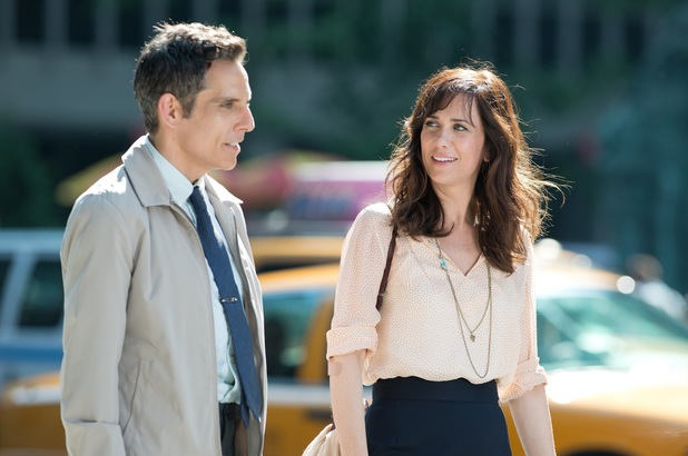 Ben Stiller, Kristen Wiig in The Secret Life of Walter Mitty