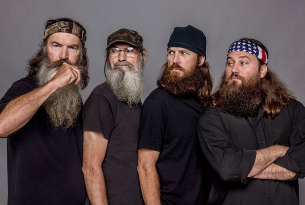 Duck Dynasty: Phil, Si, Jase and Willie Robertson