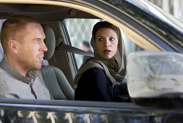 Damian Lewis as Nicholas Brody and Claire Danes as Carrie Mathison in Homeland: 'The Star'