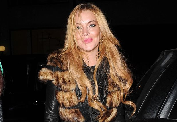 Lindsay Lohan out and about, New York, America - 16 Dec 2013Lindsay Lohan 16 Dec 2013