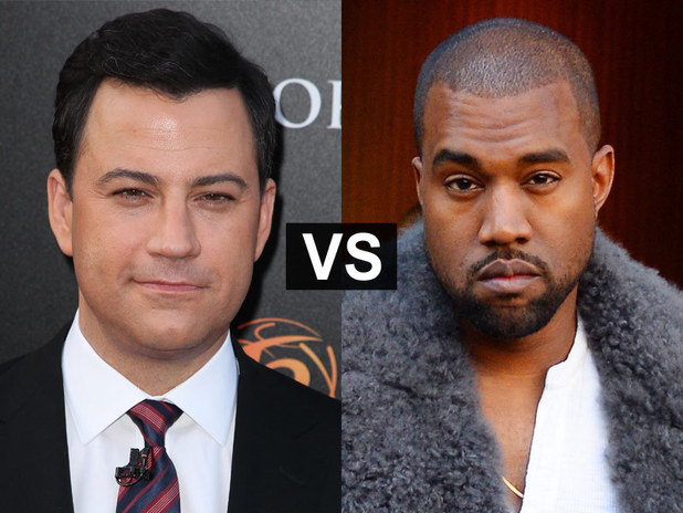 Showbiz Spats: Jimmy Kimmel and Kanye West